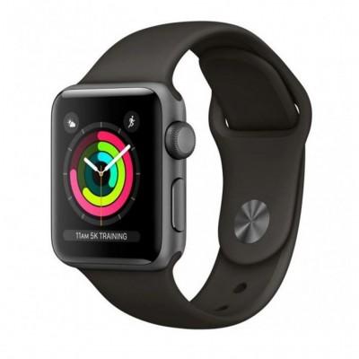 ساعت هوشمند اپل واچ سری 3 رنگ خاکستری بند اسپورت رنگ خاکستری فضایی 42mm
