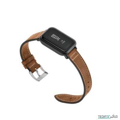 بند چرمی مناسب برای ساعت هوشمند شیائومی مدل امیزفیت
