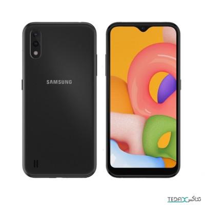 گوشی موبایل سامسونگ آ01 با حافظه 16 گیگابایت