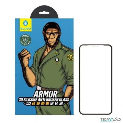 محافظ صفحه نمایش بلو مناسب برای گوشی آیفون 11 مدل Armor Silicone