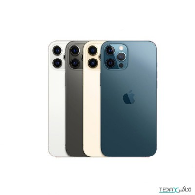 گوشی موبایل اپل آیفون ۱۲ پرو مکس دو سیم کارت ZAA  –ظرفیت 256 گیگابایت