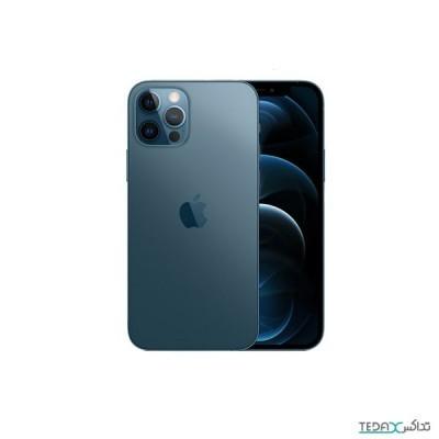 گوشی موبایل اپل آیفون ۱۲ پرو مکس دو سیم کارت ZAA –ظرفیت ۱۲۸ گیگابایت بدون رجیستر