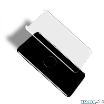 محافظ صفحه نمایش فول گلس UV مناسب سامسونگ اس 21 اولترا