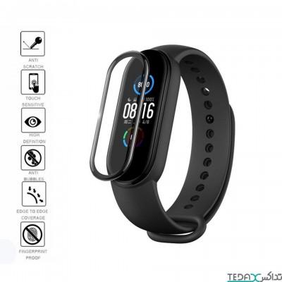 محافظ صفحه نمایش فول گلس دستبند سلامتی شیائومی مدل می بند 5