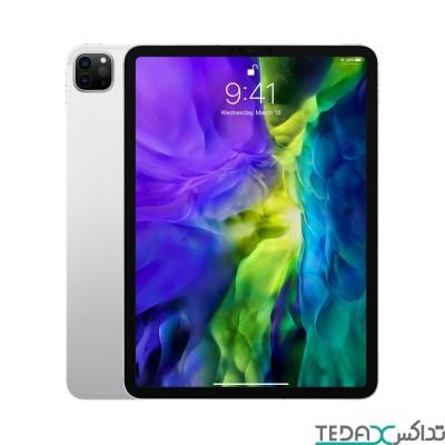 آیپد پرو 12.9 اینچی نسل 4 مدل 2020 - دارای حافظه داخلی 512 گیگابایتی - نسخه وای فای - خاکستری