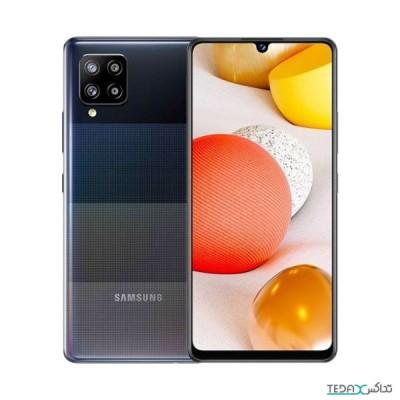 گوشی موبایل سامسونگ گلکسی ام 42 با 6 گیگابایت حافظه رم - 5جی - 128 گیگابایت - دو سیم کارت