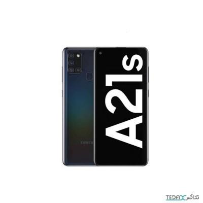 گوشی موبایل سامسونگ گلکسی آ 21 اس با 4 گیگابایت حافظه رم - 128 گیگابایت - دو سیم کارت