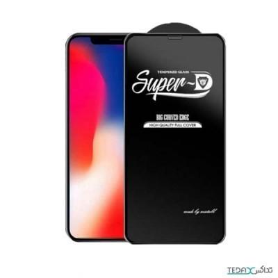 فول گلس ضخیم سوپر D مناسب گوشی های آیفون 11 پرو و آیفون ایکس