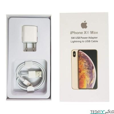آداپتور شارژ + کابل لایتنینگ های کپی مناسب برای گوشی های آیفون