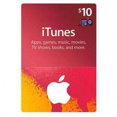 گیفت کارت 10 دلاری آیتونز آمریکا