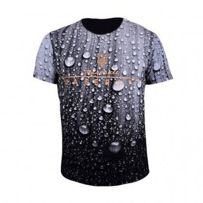 تی شرت سه بعدی مردانه آلما مدل 1001