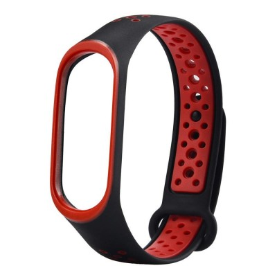 بند سیلیکونی دستبند هوشمند شیائومی می بند 3 طرح nike
