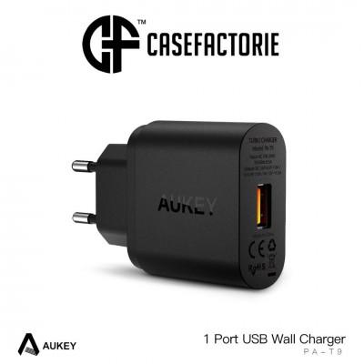 آداپتور فست شارژ آکی QC3 برند Aukey - Aukey Wall Charger QC3