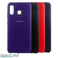 کاور سیلیکونی اورجینال سامسونگ آ 20 برند Samsung - Silicone cover For Samsung A20