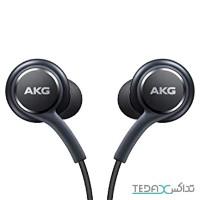 هندزفری اورجینال سامسونگ اس 8 AKG - samsung galaxy s8 original headphones