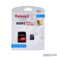 مموری کارت میکرو اس دی با حافظه 16 گیگابایت برند Galexbit مدل Class 10 U1 - Galexbit UHS-I U1 Class 10 50MBps microSPHC With Adapter - 16GB