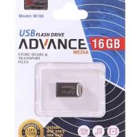 فلش مموری با حافظه 16 گیگابایت برند advance media مدل M106 - Flash Memory 16GB advance media - M106