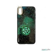 کاور طرح شب تاریک سبز مناسب برای آیفون ایکس اس مکس - Dark Night Green Case For Iphone XS Max