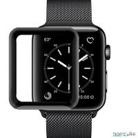 محافظ صفحه نمایش گلس فول چسب دور نرم مناسب برای اپل واچ سری 5 44mm - PET Frame Screen Protector Full Glass For Apple watch 5 Series 44mm