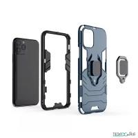 کاور ضد ضربه دارای هولدر انگشت مناسب برای آیفون 11 پرو مکس برند آرمور - Armor Case For Iphone 11 Pro Max