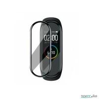 محافظ صفحه نمایش فول گلس دستبند سلامتی شیائومی مدل می بند 4 - Xiaomi Mi Band 4 Full Glass Screen Protector