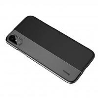 کاور ژله ای دو رنگ مناسب برای آیفون ایکس برند بیسوس مدل 1/2 Case - Baseus Half to Half Case For iphone X