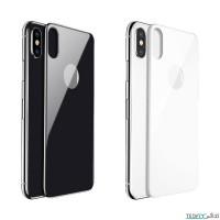 محافظ پشت گوشی گلس بیسوس مناسب آیفون ایکس / ایکس اس مدل Back Glass Film - Baseus Back Glass Film Glass For Apple iPhone X / XS