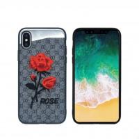 کاور طرح رز مناسب برای آیفون ایکس مدل NX CASE - NX ROSE Case For iphone X