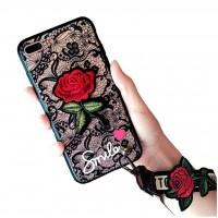 کاور طرح رز مناسب برای آیفون 7 پلاس و 8 پلاس مدل GUCCI Rose - GUCCI Rose Case For iphone 7 PLUS/8 PLUS
