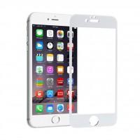 محافظ صفحه نمایش فول گلس مدل 4D مناسب برای آیفون 6 و 6S - 4D Full Glass Screen Protector For Apple iPhone 6/6S