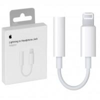 مبدل اورجینال لایتنینگ به جک 3.5 میلی متری هدفون اپل - Apple Orginal Lightning To 3.5mm Headphone Jack Adapter