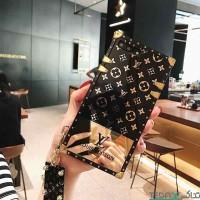 کاور لویس ویتون صندوقی طلایی بند دار LV مناسب برای شیائومی نوت 8 پرو