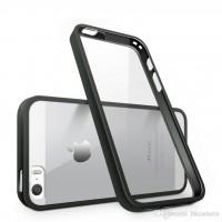 کاور دور ژله ای پشت طلق مناسب برای آیفون 7 و 8 برند i-smile - i-smile Back Bumper Cover For Iphone 7/8