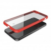 کاور دور ژله ای پشت طلق مناسب برای آیفون 7 و 8 برند TOTU - TOTU Back Bumper Cover For Iphone 7/8