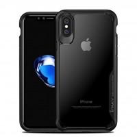 کاور دور ژله ای پشت طلق مناسب برای آیفون X برند ipaky - ipaky Back Bumper Cover For Iphone X