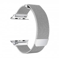 بند فلزی اپل واچ 42mm مدل Milanese loop - Milanese Metal Band For Apple Watch 42mm