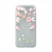 کاور طرح ژله ای گلدار مناسب برای آیفون 7 و 8 - Flower iphone case For iphone 7/8