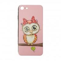 کاور ژله ای طرح جغد مناسب برای آیفون 7 و 8 - owl iphone case For iphone 7/8