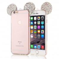 کاور ژله ای گوشدار مناسب برای آیفون 7 - Diamond Mickey Luxury 3d Case For iphone 7