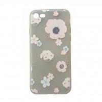 کاور طرح ژله ای گلدار مناسب برای آیفون 7 و 8 مدلB - Flower iphone case For iphone 7/8 B