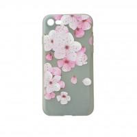 کاور طرح ژله ای گلدار مناسب برای آیفون 7 و 8 مدلC - Flower iphone case For iphone 7/8 C