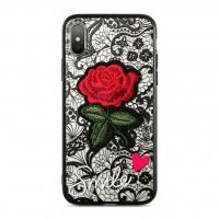 کاور طرح رز مناسب برای آیفون ایکس مدل Marble - Marble ROSE Case For iphone X