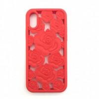 کاور ژله ای طرح رز مناسب برای آیفون ایکس مدل Sweet - Sweet ROSE Case For iphone X