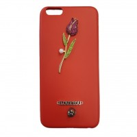 کاور طرح رز نگین دار مناسب برای آیفون 7 و 8 مدل Rose n - Rose n Case For iphone 7/8
