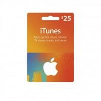 گیفت کارت 25 دلاری آیتونز آمریکا - itunes 25$ Gift Card U.S.A