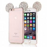کاور ژله ای گوشدار مناسب برای آیفون 6 و 6 اس - Diamond Mickey Luxury 3d Case For iphone 6/6S
