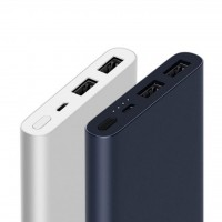 پاور بانک شیاومی مدل Mi Power Bank 2 با ظرفیت 10000 میلی آمپر ساعت مدل 2 پورت - Xiaomi Mi Power bank 2 Port - 10000mAh Fast Charging