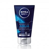 ژل حالت دهنده مو مردانه نیوآ مدل AQUA 150ml - Nivea AQUA Styling Gel For Men 150ml