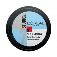 واکس مو لورآل سری Studio Line مدل Style Rework Remix حجم 150 میلی لیتر - Loreal Studio Line Style Rework Remix Hair Vax 150ml