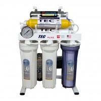 تصفیه آب تک 8 مرحله ای با ماورابنفش و قلیایی ORP اسمز معکوس مدل RO-T290 - Tec RO-T290 Water Purifier